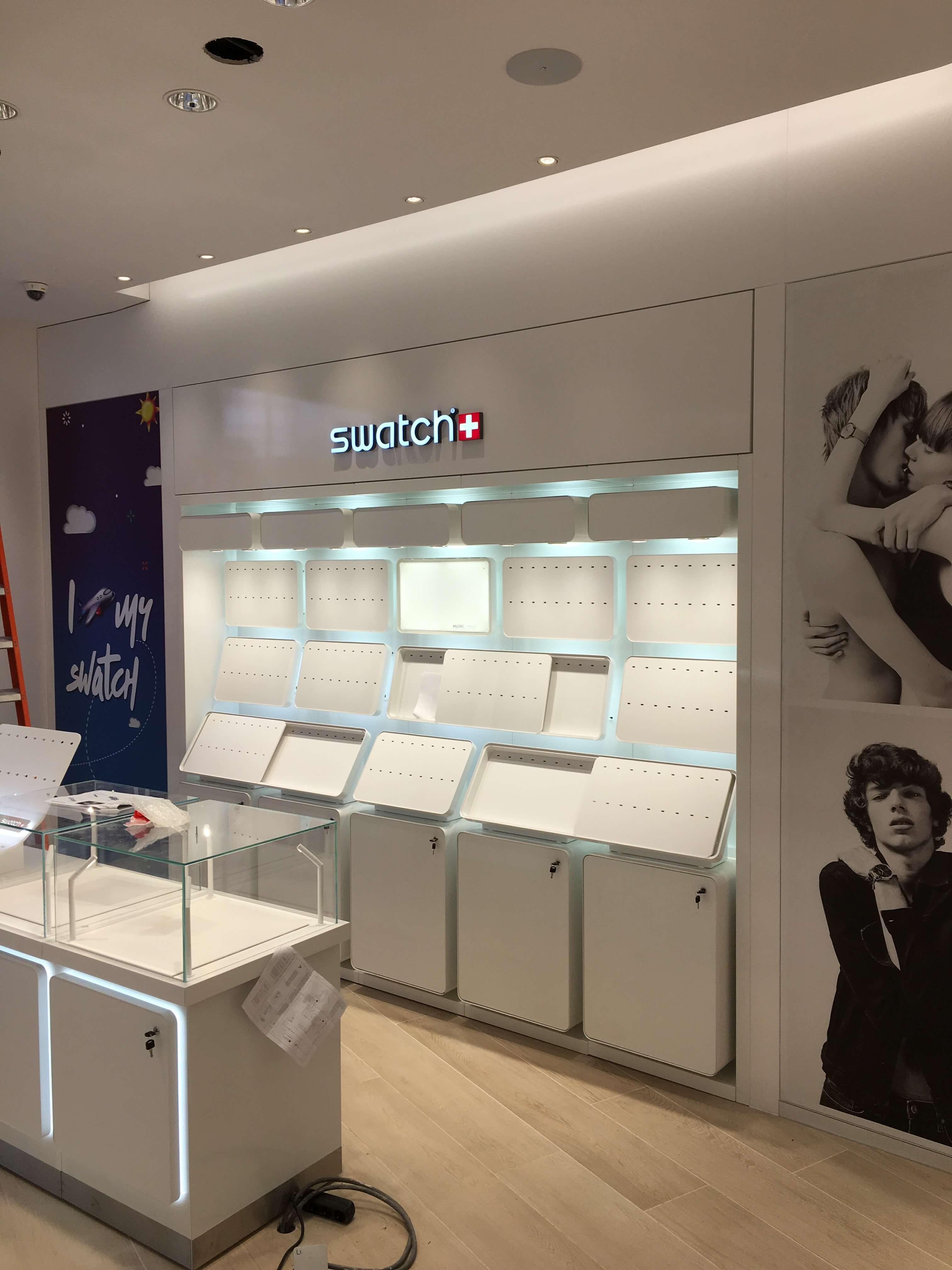 Foto van de Swatch Watches winkel in Roermond