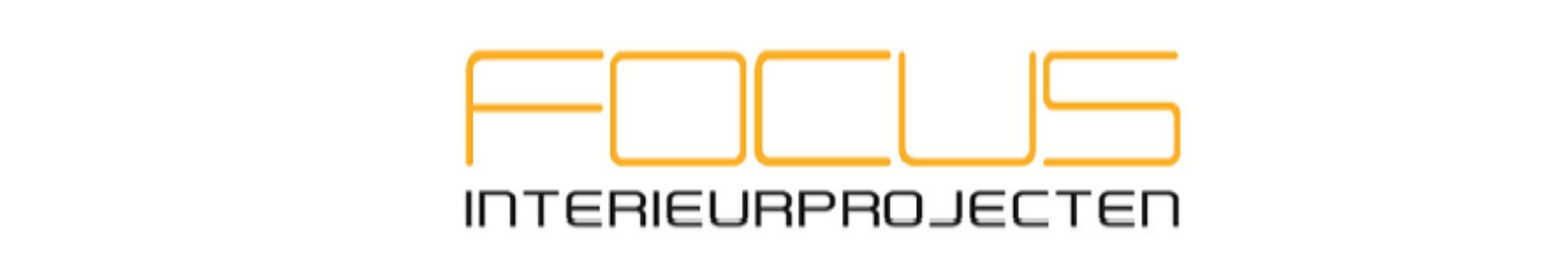 Langwerpig logo van Focus Interieurprojecten