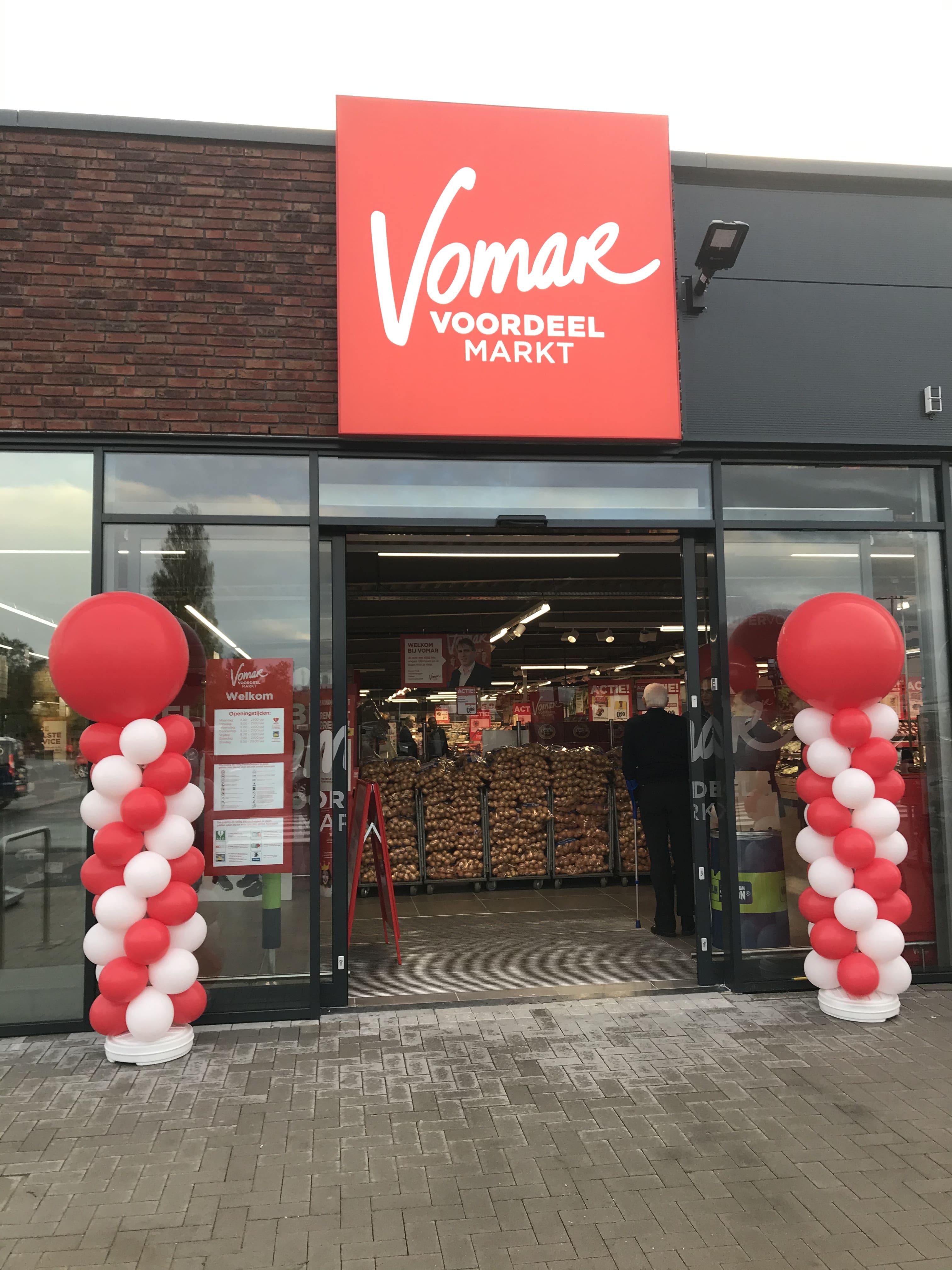 Foto van de Vomar supermarkt in Ter Aar