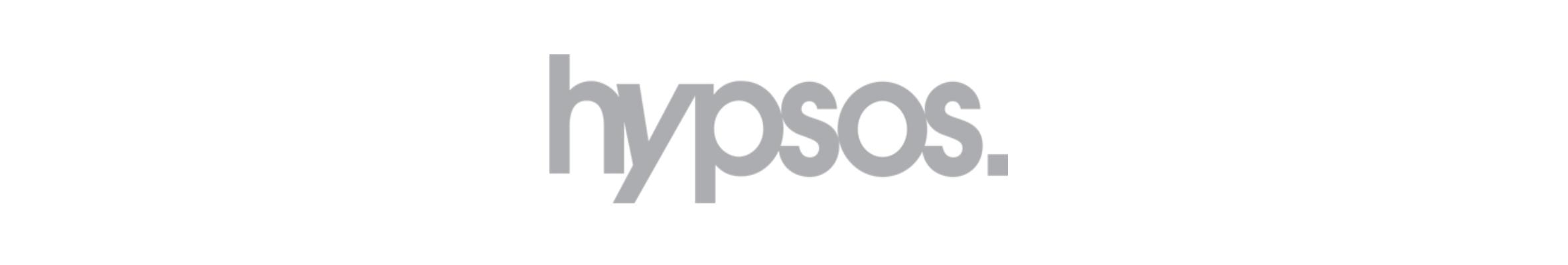Langwerpig logo van Hypsos