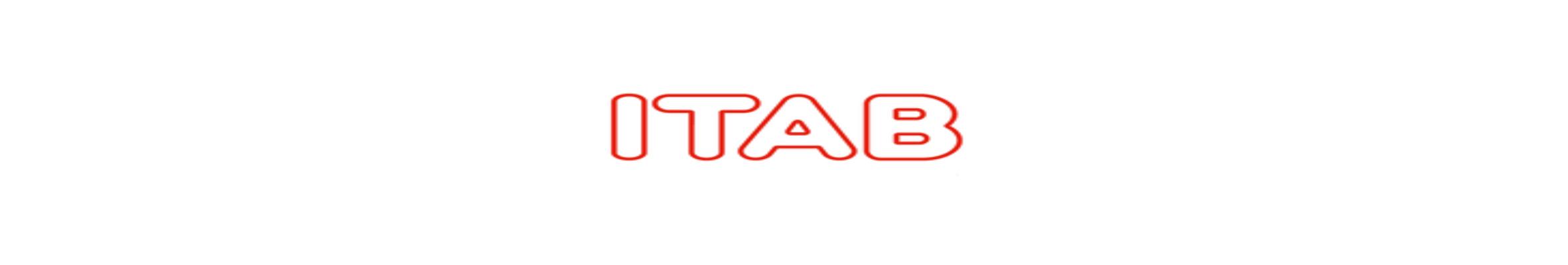 Langwerpig logo van ITAB Shop Concept