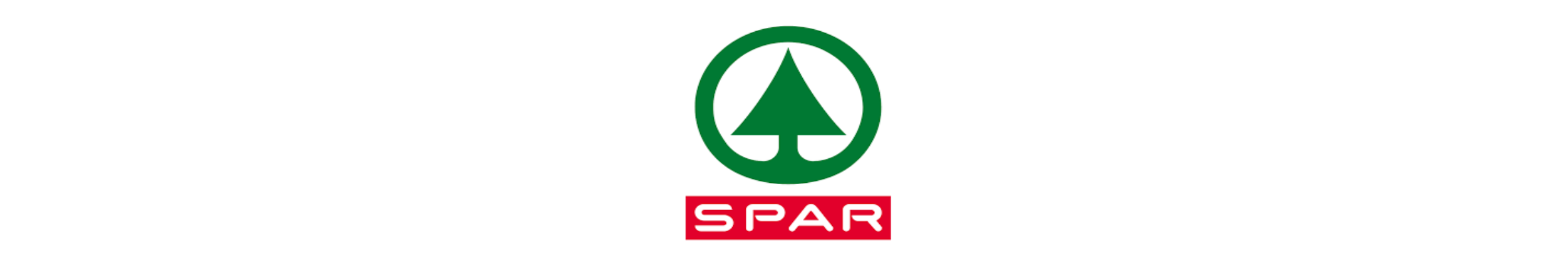 Langwerpig logo van Spar