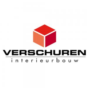 Vierkant logo van Verschuren Interieurbouw